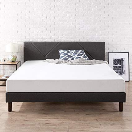 Amazon Com Zinus Fgpp K Upholstered Platform Bed King Home