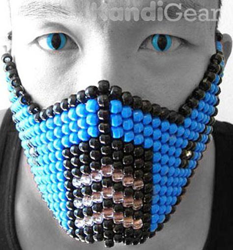 Sub Zero Blue Kandi Mask