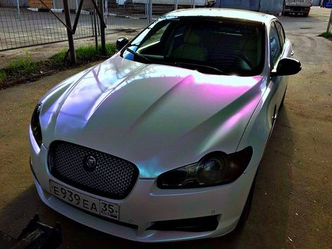 Pearl White Chameleon Glitter Film Car Painting Car Paint
