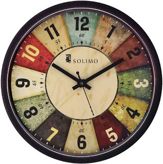 Shubharambham Amazon Brand Solimo 12 Inch Wall Clock Classic Wall Clock Classic Wall Clock Wall Clock Price