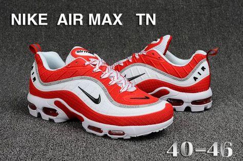Nike Air Max TN Men's Running Shoes WhiteRoyal Blue #SIM006265