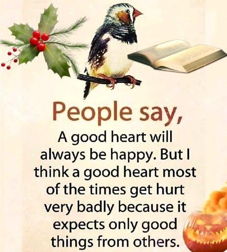 A good hurt always gets hurt