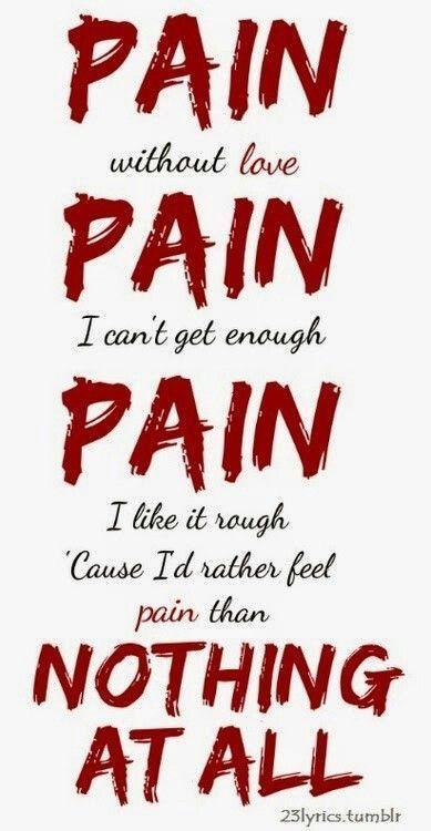 Pain Without Love Lyrics : without, lyrics
