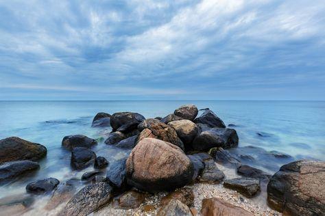 ƒ11.2 Beach Rocks Long Island Sound