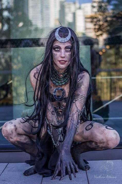 [self] My Enchantress (Suicide Squad) cosplay at Oz Comic Con (my first convention)! Everything was made by me