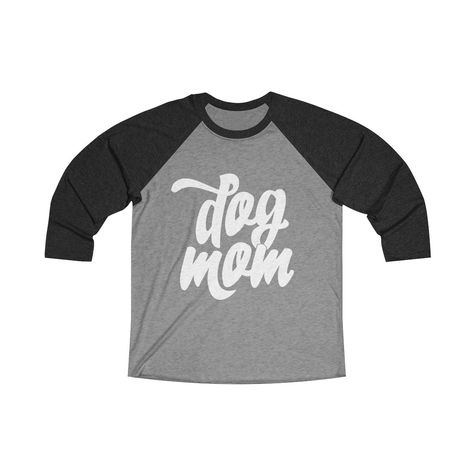 A perfect Mother's Day gift! For all dog moms! This loose fit long sleeve tee is perfect to score a home run on any field. And an excellent quality print will let one do it with a style. .: Loose-fit .: 50% Polyester; 25% Soft cotton; 25% Rayon .: Light fabric (4.3 oz/yd² (146 g/m²)) .: Sewn in label .: Runs smaller than usual XS S M L XL 2XL Width, in 18 20 21 23 25 27 Length, in 28 29 30 31 32 33 Sleeve length, in 24 25 25 26 26 27