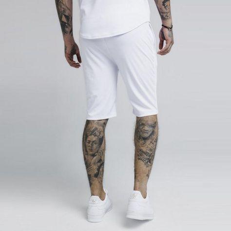 Men Sik Silk Slim Fit Comfortabl Gyms Shorts