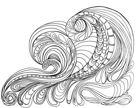 Coloring Pages Of Ocean Waves - Coloring Style Pages Bible Stories