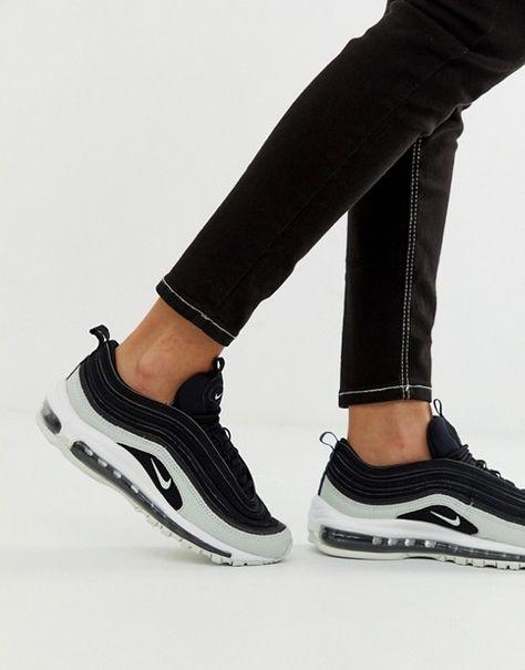 Nike Women's Air Max 97 BlackBlackWhite