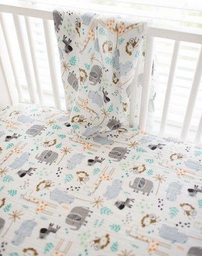 Jungle Crib Bedding Zoo Baby Bedding Gray Crib Bedding Jungle Crib Bedding Baby Room Inspiration Crib Bedding Sets