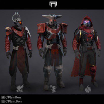 Destiny 2 Fan Shares Awesome Fallen, Cabal Armor Sets – Game