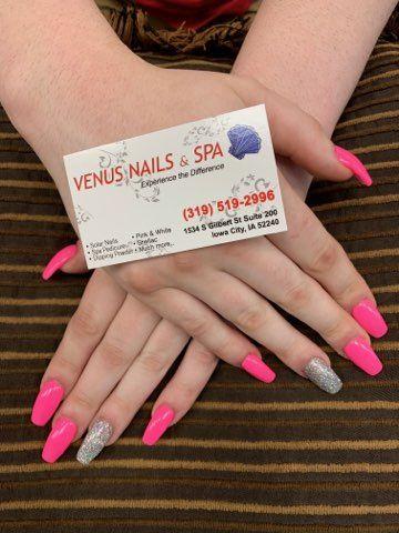 Pin On Nail Salon 52240 Venus Nails And Spa No 1 Nail Salon In Iowa City 52240
