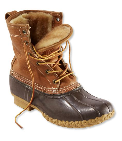 LL Bean Tumbled Leather Shearling Lined Bean Boots. For your consideration is a pre-owned pair of LL Bean BEAN Boots. There is wear to the heels on the outer soles as shown. Ll Bean Boots, Women's Boots, Ll Bean Winter Boots, Sperry Boots, Warm Boots, Black Boots, Ankle Boots, Fashion Mode, Fall Fashion