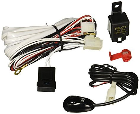 Pilot Plharn3 Pre Assembled Harness Kit With Micro Bug Switch And