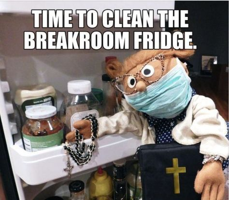 Time to clean the breakroom fridge. Office Humor Funny Meme Work Baptist - Nursing Meme - The post Time to clean the breakroom fridge. Office Humor Funny Meme Work Baptist appeared first on Gag Dad. Pharmacy Humor, Dental Humor, Medical Humor, Nurse Humor, Radiology Humor, Police Humour, Lab Humor, Work Memes, Work Quotes
