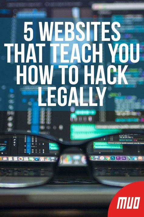 5 Websites That Teach You How to Hack Legally --- If you're an ethical hacker, it can be hard to put your skills to the test without harming anyone. Fortunately, there are resources that give you a sandbox to hack in, giving you a place to learn while al Learn Computer Coding, Life Hacks Computer, Computer Basics, Computer Help, Computer Security, Computer Hacking, How To Learn Coding, Computer Books, Life Hacks Websites