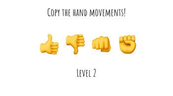 Occupational Therapy Teletherapy Hand Emoji Challenge Virtual Or Printable Occupational Therapy Emoji Challenge Hand Emoji