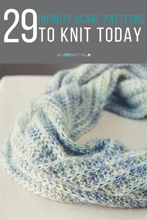 40 Infinity Scarf Patterns Youll Love Reversable Knit Lace