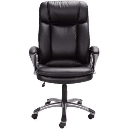 Deluxe Executive Big Tall Commercial Office Chair Padded Back