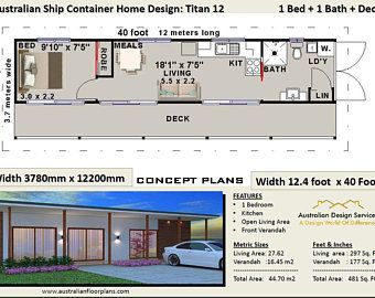 Ship Container House Plans 3 Containers Shipping Containers Etsy Container House Plans Container House Shipping Container House Plans