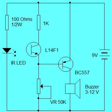 Simple Security Alarm Circuit Working and Applications | Circuit ...