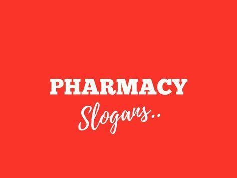 32 Catchy Pharmacy Advertising Slogans - Favland org