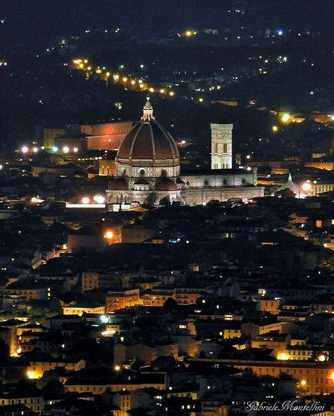 Il Duomo Visto Dalla Terrazza Panoramica Di Fiesole