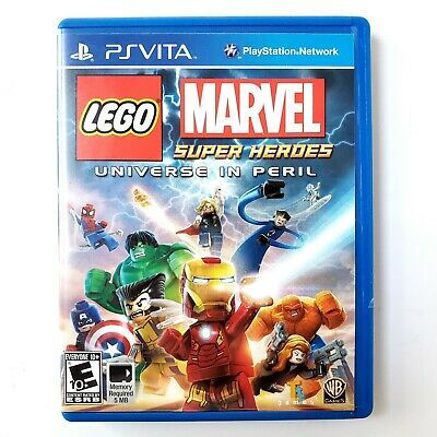 Lego Marvel Super Heroes Universe In Peril Sony Playstation Vita 2013 Tested Marvel Movies Aveng Lego Marvel Lego Marvel Super Heroes Marvel Superheroes