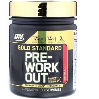 Optimum Nutrition Gold Standard Pre Workout Fruit Punch 10 58 Oz 300 G Discontinued Item In 2020 Optimum Nutrition Optimum Nutrition Gold Standard Workout Fruit