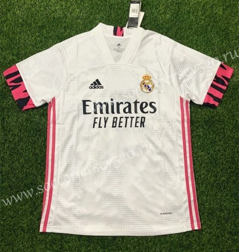 2020 2021 Real Madrid Home White Thailand Soccer Jersey Aaa Real Madrid Real Madrid Soccer Jersey Real Madrid Football Club