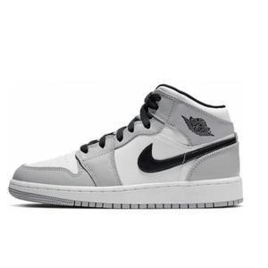 baskets Air Jordan 1 Light Smoke Grey Gris fumé | Baskets grises ...