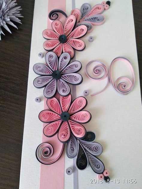 Paper quilling designs for your child to try