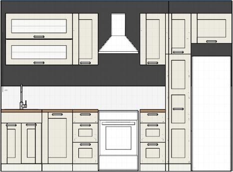 Small One Wall Kitchen Remodel one wall kitchen | kitchens, walls and house