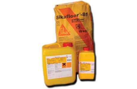 Sikafloor 81 Epocem Mortier Epoxy Ciment Autolissant 1 5 A 3 Mm Sika Mortier Ciment Epoxy