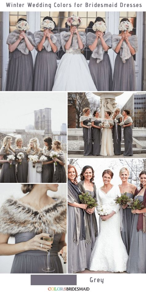 Darker gray for a winter wedding dress color that is also nautical or beau . Darker grey for a winter wedding dress color that can also go nautical or farm p. Darker grey for a winter wedding dress color that can also go nautical or farm p.