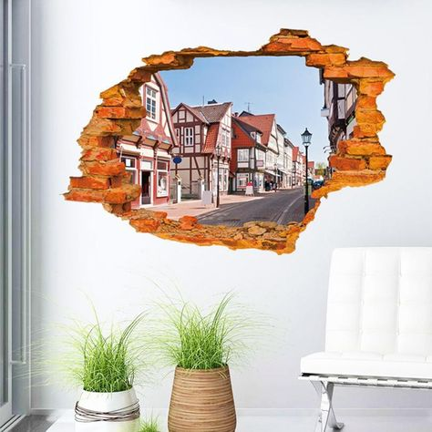 3D Dimensional Wall Stickers Wall Art Home Decor