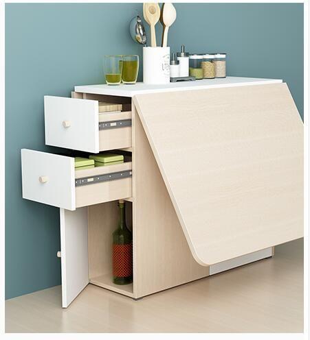 Scalable Folding Table The Rectangular Table Folding Furniture Space Saving Furniture Home Furniture