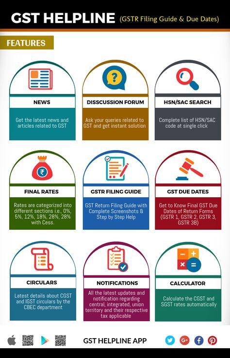 15 best GST Helpline mobile app images on Pinterest Mobile - payroll tax calculator