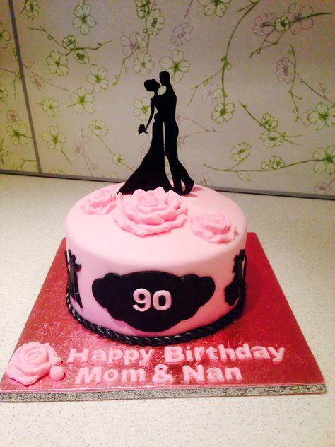 Ballroom dancing cake