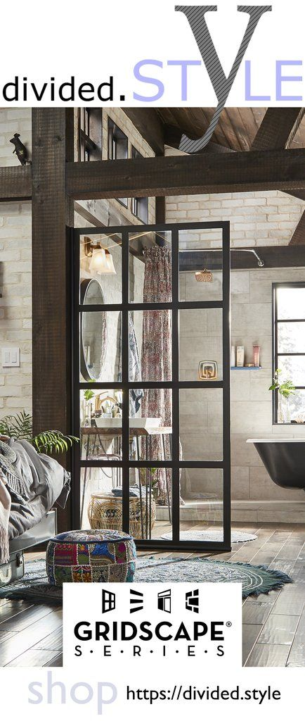 Shop Https Divided Style Black Frame Factory Window Grid Room