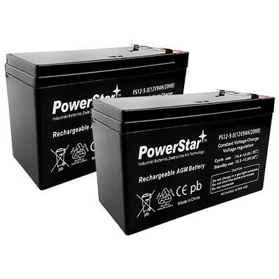 Mighty Max Battery 12V 9Ah Battery Replaces APC Back-UPS XS 1300VA BX1300LCD 10 Pack Brand Product