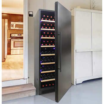 Vinotemp 300 Bottle Dual Zone Wine Cellar With Images Wine