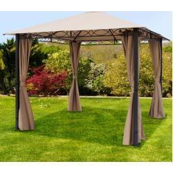 Reduzierte Wasserdichte Pavillons Sonnenschutzterrasse