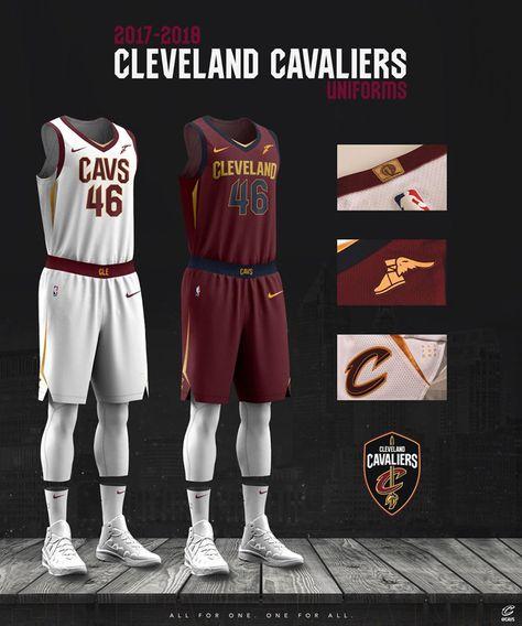 Cleveland Cavaliers Presento Sus Nuevos Uniformes