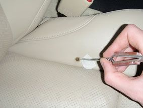 Leather Car Seat Burn Hole Repair 2 Leather Car Seat Repair Leather Repair Leather Couch Repair