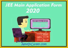 Jee Main Application Form 2020 Application Form Application Engineering Exam