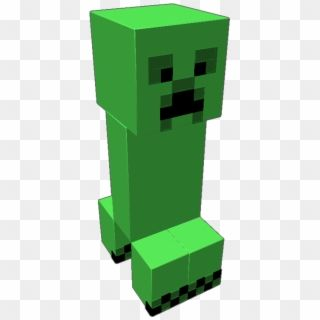 Fully Functional Creeper From Minecraft He Looks Around Fictional Character Hd Png Download Creeper Minecraft Minecraft Pixel Art Minecraft