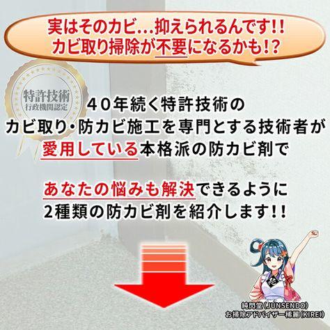 楽天市場 カビ取り カビ防止 防カビ剤 防カビ侍 アルコールタイプ