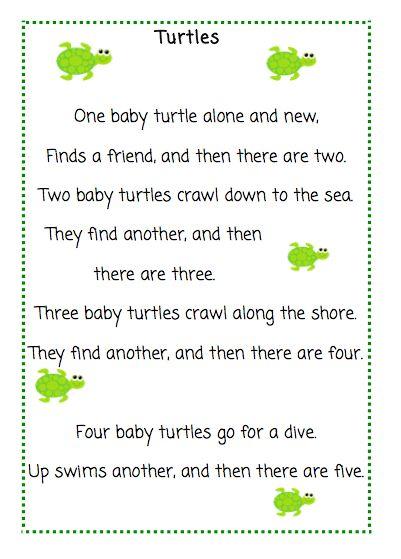 Turtles Poems 1