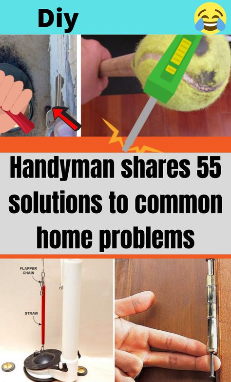 Diy Arts And Crafts, Diy Crafts, 1000 Lifehacks, Handyman Projects, Diy Home Repair, Household Cleaning Tips, Useful Life Hacks, Home Repairs, Diy Pallet Projects